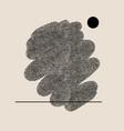 hand drawn minimalistic creative colorful vector image