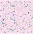 seamless pattern - counting sheeps on the pink vector image vector image