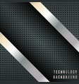 abstract background with metallic diagonal stripes vector image vector image
