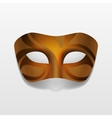 Carnival Masquerade Party Mask Isolated vector image vector image