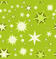 seamless texture light green stylized flowers and vector image vector image