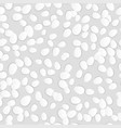 seamless white easter eggs texture vector image