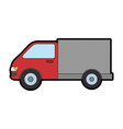 truck car isolated icon vector image vector image