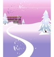 Modern House Background vector image