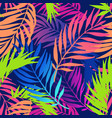 abstract colorful gradient summer seamless pattern vector image