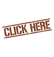 click here stamp vector image vector image