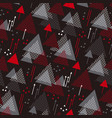 dynamic color seamless pattern vector image vector image