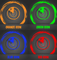 radar icon sign Fashionable modern style In the vector image vector image
