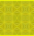 yellow seamless psychedelic abstract curved vector image vector image