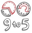 9 to 5 vector | Price: 1 Credit (USD $1)