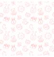 batoys cute cartoon set seamless pattern vector image vector image