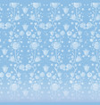 blue vintage wallpaper vector image vector image