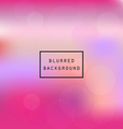 Colorful smooth gradient blur pink abstract vector image vector image