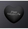 Dark Valentine Background vector image vector image