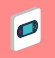 game gadget portable console computer symbol vector image vector image