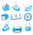 graphical business elements vector image vector image