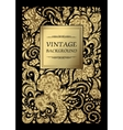 luxury vintage background Perfect as vector image vector image