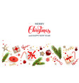 whitw christmas background vector image
