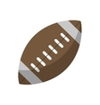 ball american football sport vector image