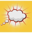 Cloud for Comic Book Bubble Text vector image vector image