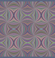 colorful seamless abstract hypnotic swirl stripe vector image vector image