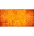 orange abstract grunge background vector image vector image