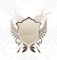 Shield Brown Decorative vector image