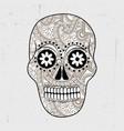 dia de los muertos background vector image