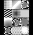 abstract monochrome style vertical composition vector image