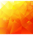 Abstract Orange And Yellow Background vector image