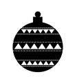 christmas ball decoration isolated icon vector image vector image