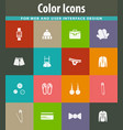 clothing store icon vector image