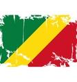 Congo grunge flag