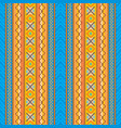 ethnic boho seamless background vector image vector image