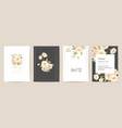 mother day floral postcard mom and child modern vector image