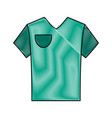 polo shirt with stripe on sleeves icon image vector image vector image