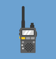 walky talky vector image