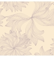 Simple sketched flowers vector image