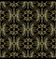 embroidery style 3d baroque seamless pattern vector image vector image