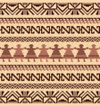 ethnic textile pattern vector image vector image