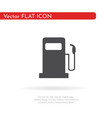 fuel icon for web business finance and vector image vector image