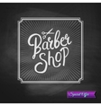 Special Promotion for a Barber Shop vector image vector image