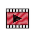 video play button movie digital concept vector image vector image