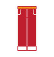 pair of trousers icon vector image