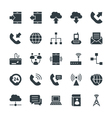 Communication Cool Icons 1 vector image vector image