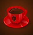 Cup2g vector image