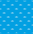 gmo free label pattern seamless blue vector image vector image