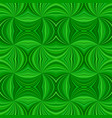 green hypnotic abstract seamless striped swirl vector image vector image
