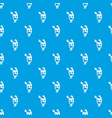 monster pattern seamless blue vector image