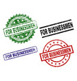 scratched textured for businessmen stamp seals vector image vector image